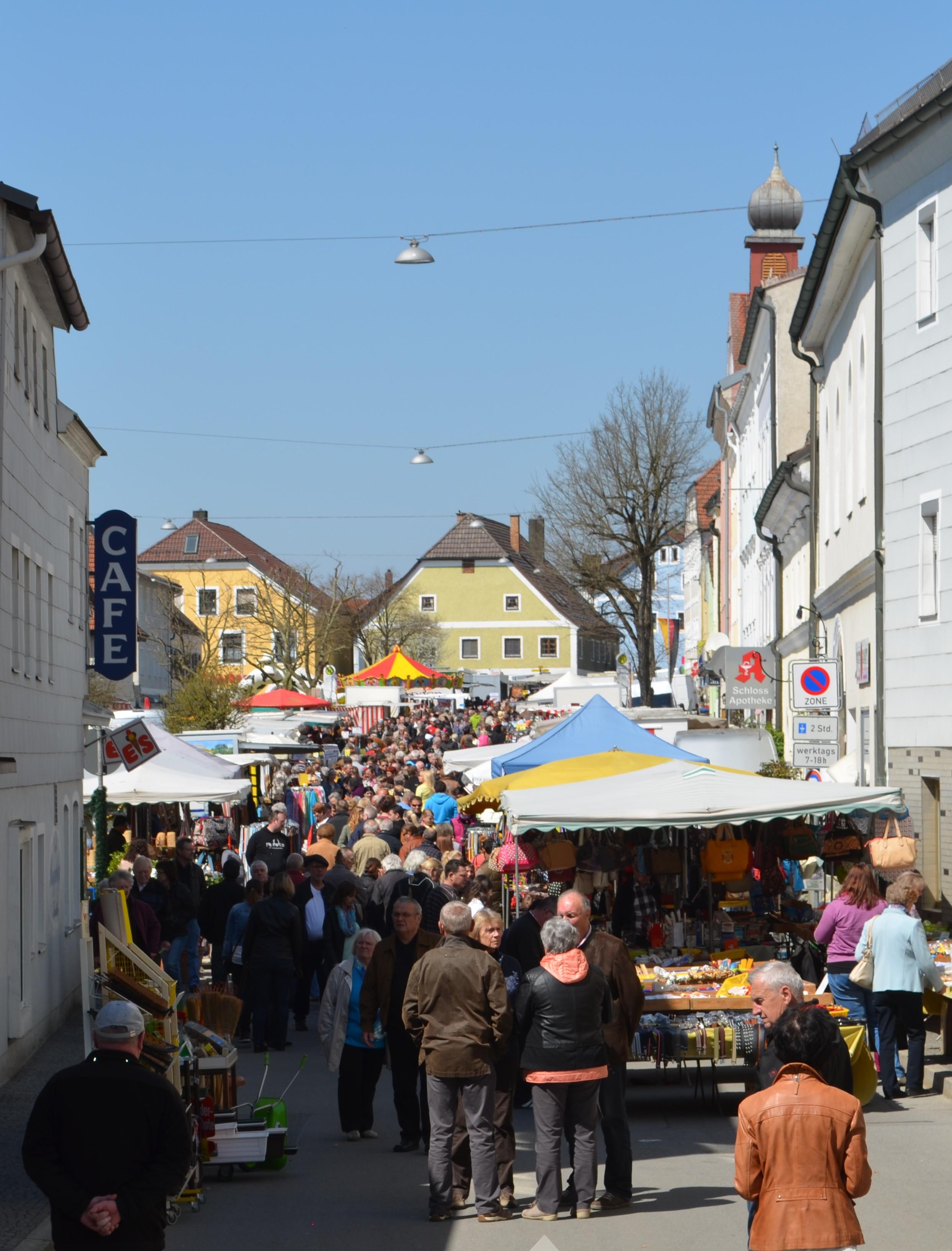 Frühlingsmarkt in Ortenburg