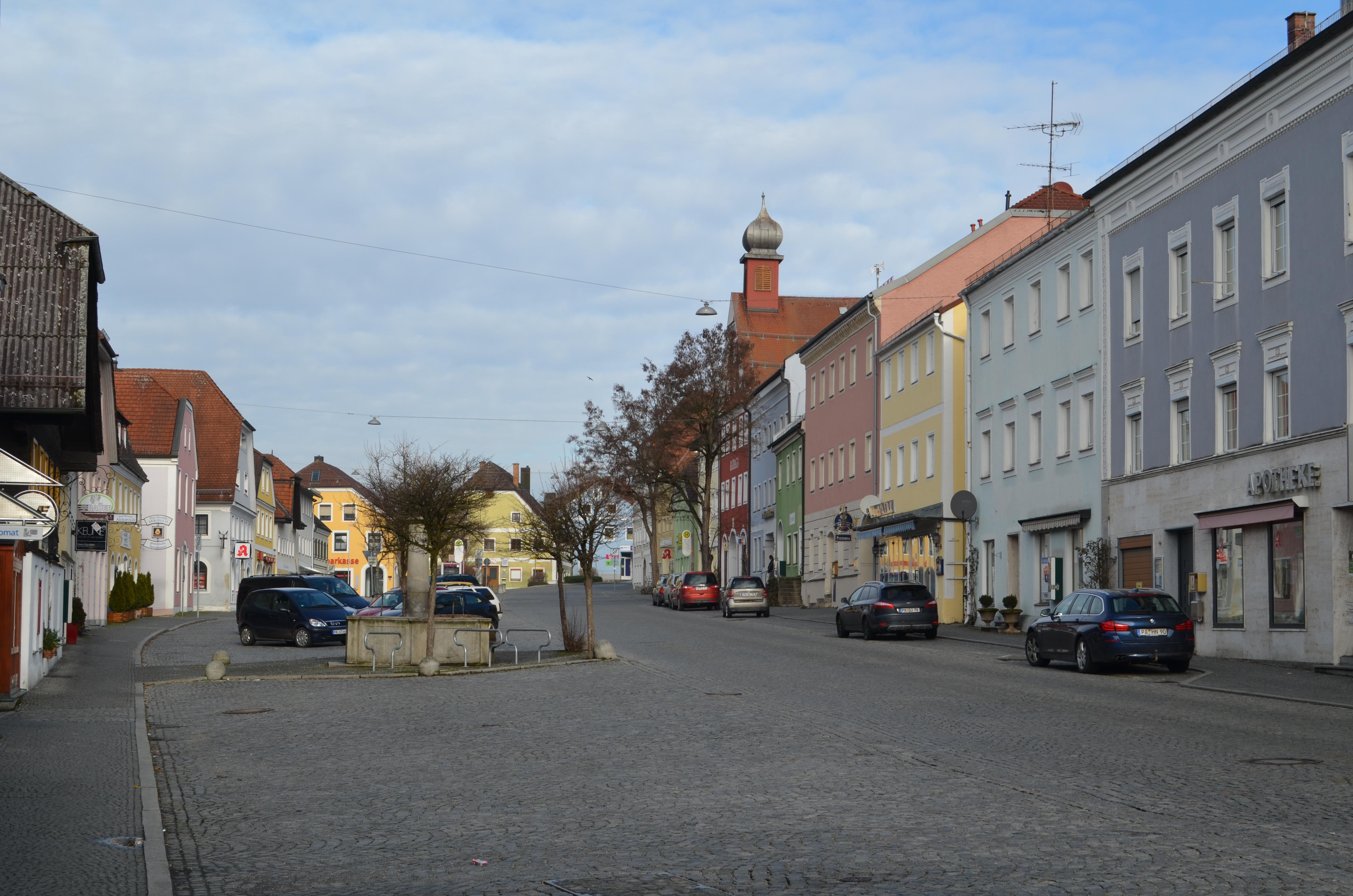 Marktplatz Ortenburg